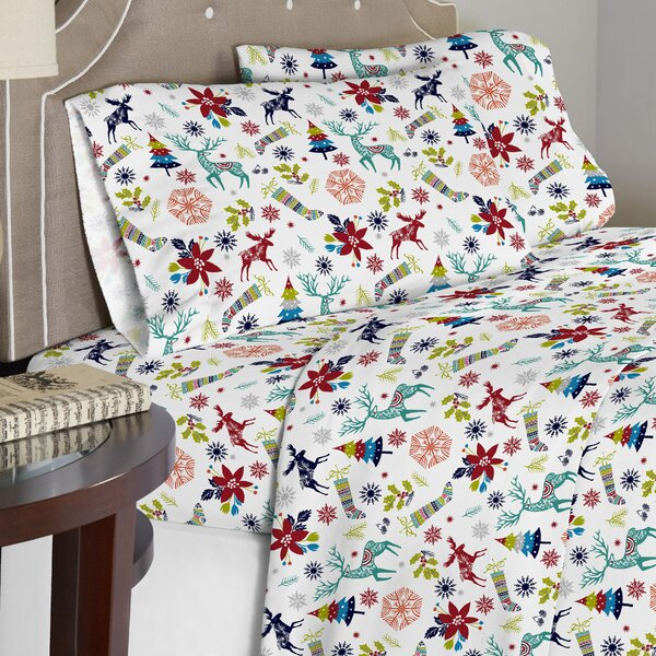 100% Cotton 3 Piece Duvet Set by The Holiday Aisle